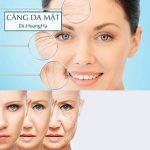 Căng chỉ da mặt collagen