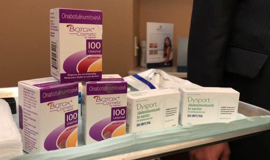 Botox chính hãng được sử dụng tại TMV Dr Hoàng Hà