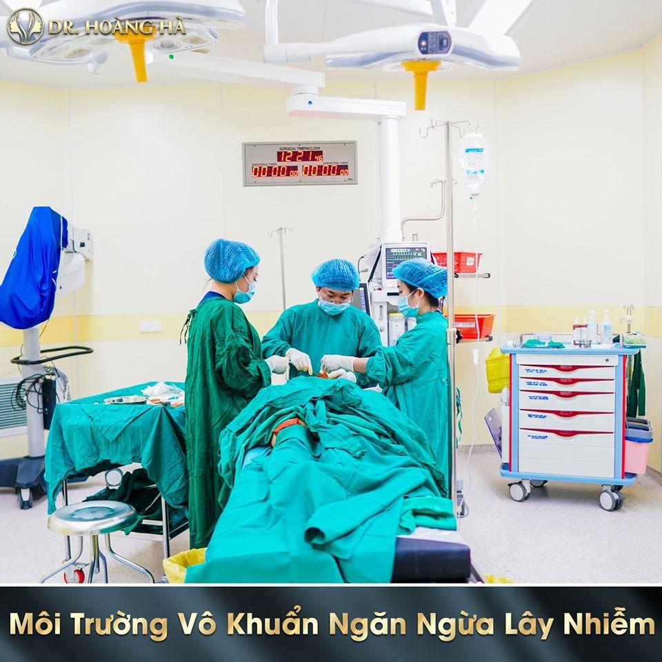 Hệ thống phòng phẫu thuật vô khuẩn 1 chiều, trang thiết bị nhập khẩu từ Châu Âu, kiếm chứng an toàn bởi FDA.