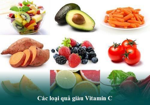 Hút mỡ xong nên ăn nhiều các loại thực phẩm chứa Vitamin C