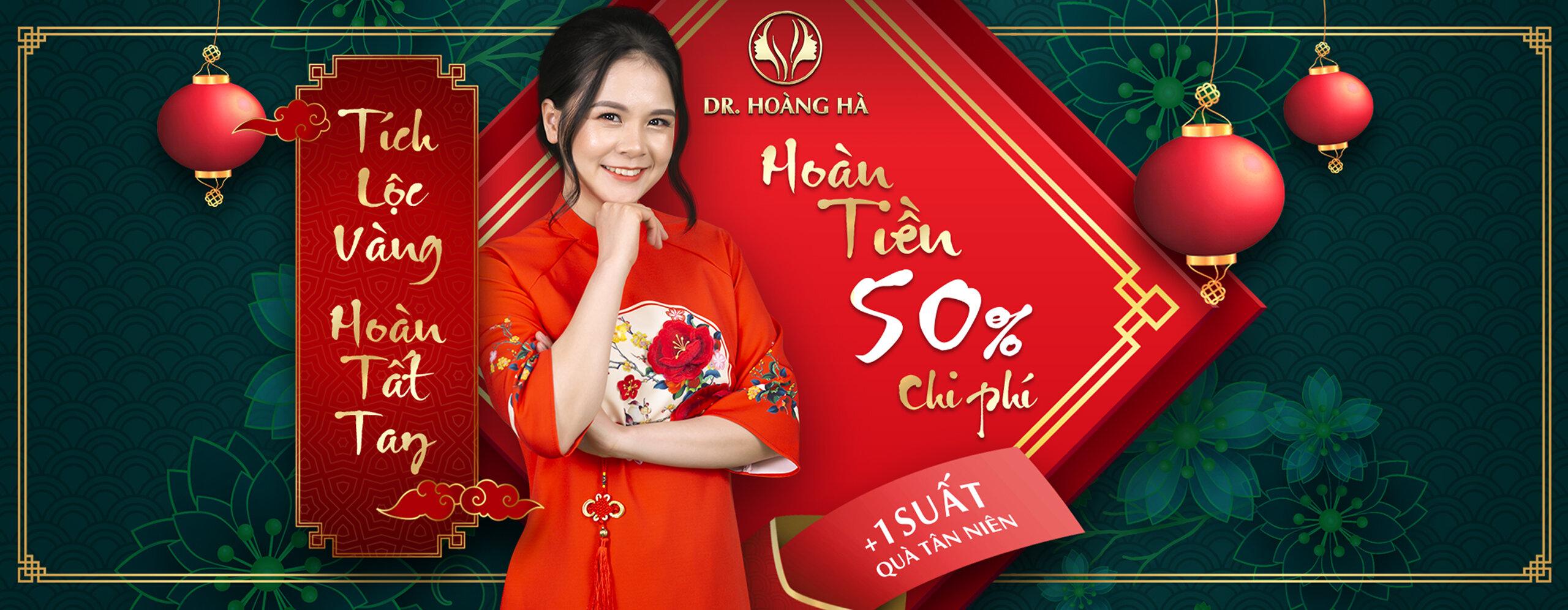 Dr Hoàng Hà ưu đãi tết